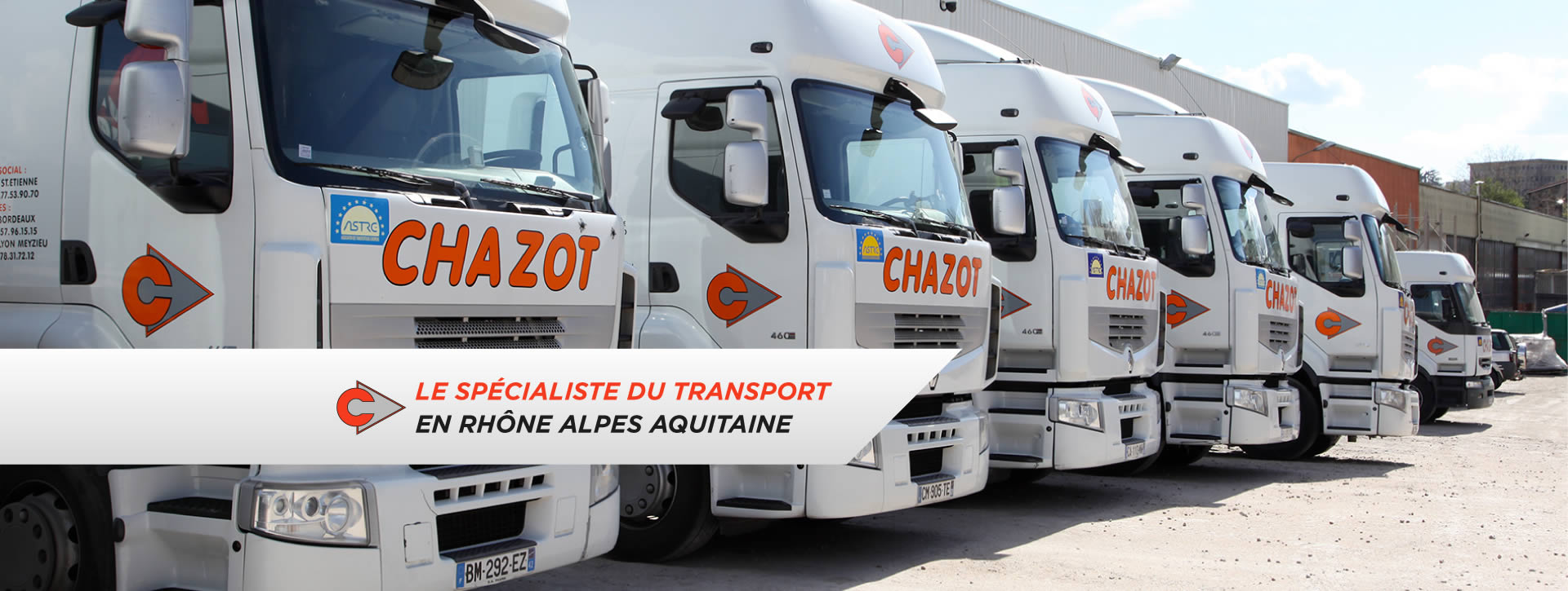 transports chazot le sp cialiste du transport en rh ne alpes aquitaine. Black Bedroom Furniture Sets. Home Design Ideas